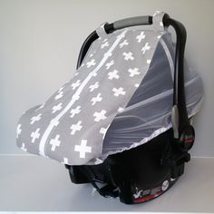 Lightweight, airy infant car seat cover that actually has a layer of ...