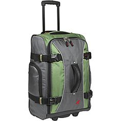 Athalon Luggage 21 Inch Hybrid Travelers Bag, Grass Green, One Size Backpack Brands, Travel Backpack, Travel Bags, Best Carry On Luggage, Backpacking Hammock, Carry On Size, Duffel Bag, Holiday Travel, Go Shopping