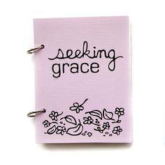 Christian Prayer Journal - Seeking God's Grace in lavender fields on Etsy, $19.56 CAD