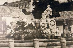 La Cibeles (1855) - Madrid (Spain)