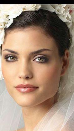 Natural Bridal Makeup. less smokey eye http://www.mybigdaycompany.com/weddings.html