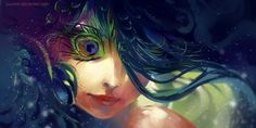 Eye of Paradise by `yuumei on deviantART