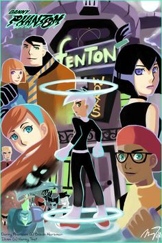Danny Phantom - Anime style by gem2niki.deviantart.com on @DeviantArt