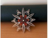Large quilled ornament