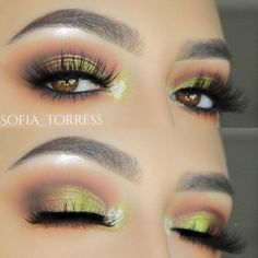 You need to see these makeup looks for your light brown eyes. Get inspiration for your future makeup and find out which colors are the most flattering. #makeupideasforbrowneyes