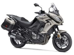 Kawasaki Versys 1000 Gets Metallic Titanium Colour For India