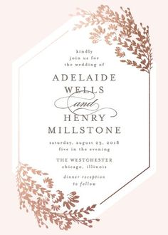 wedding invitations - Wildflowers by Lehan Veenker #weddinginvitation