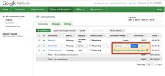 AdWords Conversion Window Change