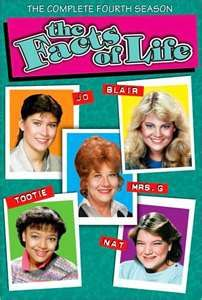 .The Facts of Life-god how I loved this show!