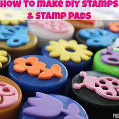 DIY Bottle Top Stamps…with easy video tutorial!