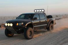 Bought brand new in ran it with the Icon stage 2 suspension for a while, then decided I wanted to go faster in the desert. Toyota Trucks, Lifted Trucks, Toyota Prerunner, Overland Tacoma, 4x4 Parts, Tacoma World, Off Road Adventure, Jeep Accessories, Toyota Tacoma