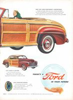 Ford Sportsman's Convertible 1946 Ad Picture