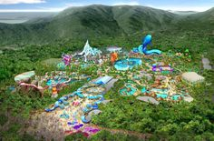 CHIMELONG RESORT GUANGDONG Guangzhou Chimelong Holiday Resort is located in Panyu District. It is a world class tourist kingdom which always brings happiness to the world. The holiday resort is mainly composed of Chimelong Paradise, the Xiangjiang Safari Park, the Water Park, the International Circus, the Crocopark, and the Golf Center.
