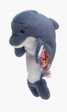 TY Beanie Babies - Echo the Dolphin Beanie Babies http://www.amazon.com/dp/B00001P50C/ref=cm_sw_r_pi_dp_ZkPYtb06KR62JMS7