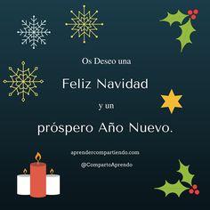 Os deseo Felices Fiestas desde Aprender Compartiendo!