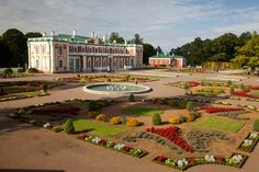 Palace in Kadriorg Area in Estonia https://www.google.com/maps/place/Kadriorg+Palace/@59.4385,24.791,15z/data=!4m2!3m1!1s0x0:0x1076605b68f648fc