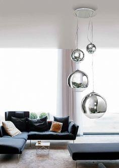Lampa żyrandol 4 płomienny SILVER BALL 40 Azzardo 3873-4P - LAMPYWCENTRUM - żyrandole, lampy Poznań,repliki broni
