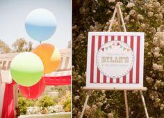 Eine tolle Idee für einen Kindergeburtstag unter dem Motto Zirkus |