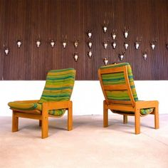 Yngve Ekström; Lounge Chairs for Swedese, 1960s.