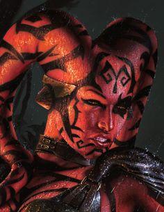 Darth Talon (close up) - by Jerry Vanderstelt me encantan todos los malos de starwars no lo puedo evitaaaaaaaar