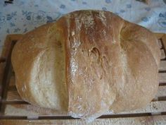 Homemade bread that always does well, even to those who have never done it before and only with 2 gr My Favorite Food, Favorite Recipes, Our Daily Bread, Easy Bread, Zucchini Bread, Ciabatta, Antipasto, How To Make Bread, Cooking Time