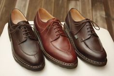 Paraboot Me Too Shoes, Men's Shoes, Shoe Boots, Fashion 2017, Luxury Fashion, Mens Fashion, Shoes World, Derby Shoes, Formal Shoes