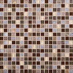 "Marvel 5/8"" x 5/8"" - Wonder Mosaic Tile By SouthCypress.com"