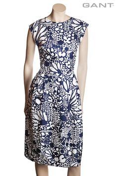 Dámské hedvábné šaty GANT | Freeport Fashion Outlet