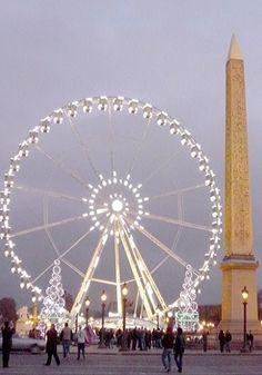 Place de la Concorde at Christmas, Paris