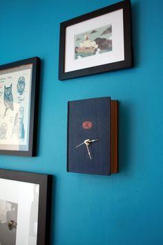 Vintage Book Clock  The Life of Samuel Johnson by ConduitPress, $60.00