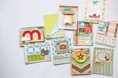 Use Your Stash to Make 100 Days of Personalized Journal Cards | Natalie Elphinstone at @studio_calico