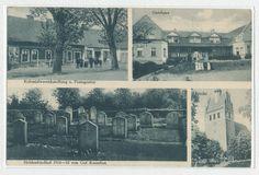 Kassuben, Geschäft, Gutshaus, Heldenfriedhof, Kirche
