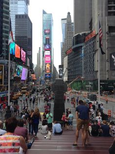 Time Square, such beauty. Even with all of the people and traffic