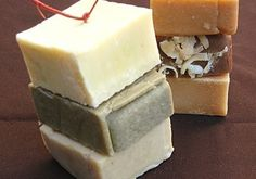 Castile Bonanza Cold Process Handmade Soap Sampler by SimplyNu, $7.50
