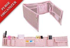 #WSWS #- (Pink) Waterproof Folding Purse Organizer / Purse Insert Organizer / Multi-use Pockets Travel Bag #Organizer              http://amzn.to/HylHkr