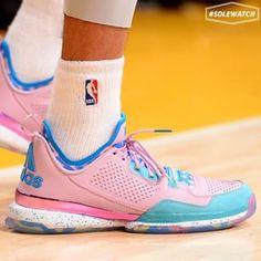 #SoleWatch: #Clippers @matt_barnes9 wearing the #Easter adidas D Lillard 1.