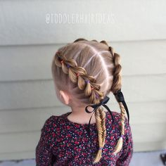 Front pull through braids we blew out her hair today and it looked so smooth and silky love this style ❤️ – Artofit Long Face Hairstyles, Baby Girl Hairstyles, Princess Hairstyles, Pretty Hairstyles, Braided Hairstyles, Hairstyle Images, Toddler Hairstyles, Hairstyles Videos, Girls Hairdos