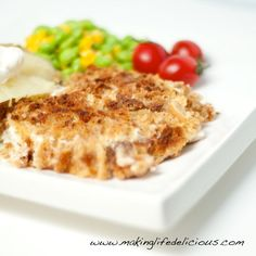 Sour Cream Chicken. A simple way to cook up chicken breast for a quick dinner.