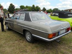 Mercedes-Benz W114 Coupe by Transaxle (alias Toprope), via Flickr