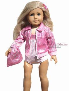 "3 Gymnastics Dance Leotards Clothing to fit 18/"" American Girl Dolls 08"