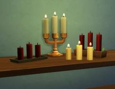 Mod The Sims - Updated: Candles + Candle Holders