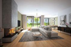 Jinonický dvůr - obývací pokoj