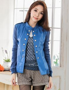 Trendy Leather Jacket for Girls Fashion