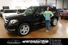 Happy Anniversary to Alyssa on your #Mercedes-Benz #GLK-Class from George Ondarza at Autos of Dallas!  https://deliverymaxx.com/DealerReviews.aspx?DealerCode=L575  #Anniversary #AutosofDallas