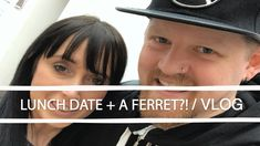 Today we go on a husband and wife lunch date and we flash back to when we had to trap a ferret in the office! Ferret, Dating, Lunch, Videos, Music, Youtube, Musica, Musik, Ferrets