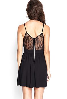 Floral Lace Fit & Flare Dress | FOREVER 21 - 2000069778