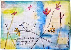 froebelsternchen: A little bird told me