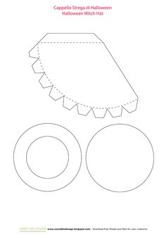 Free Witch Hat Template
