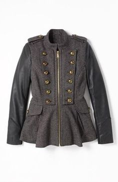 Need for fall! Military inspired BCBGeneration jacket