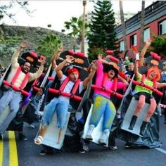 Funny Pop Culture-Inspired Halloween Costumes For Groups: 18 Funny Pop Culture-Inspired Halloween Costumes For Groups